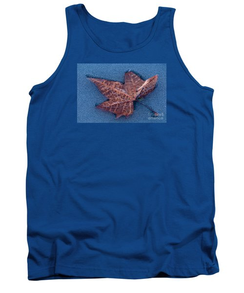 Tank Top featuring the photograph Icebound by Simona Ghidini