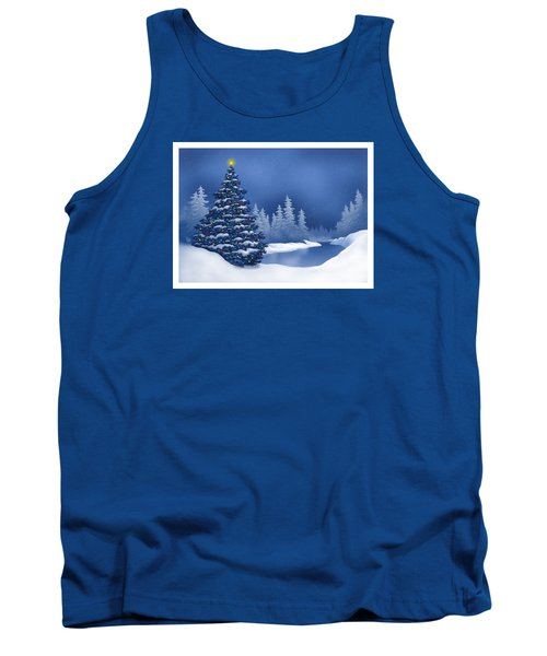 Icy Blue Tank Top by Scott Ross