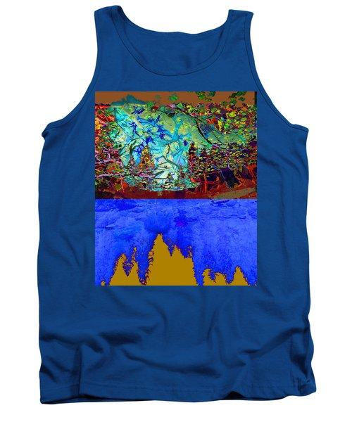 Illusion Of Lake And Forest Tank Top