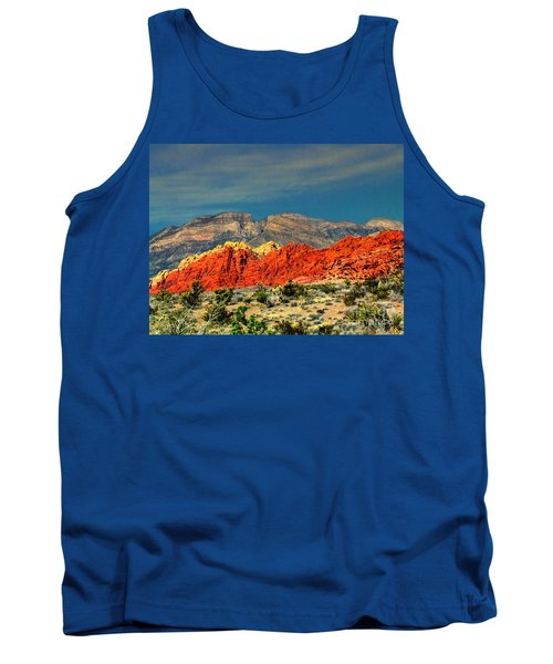 In Red Mountain 1 Tank Top