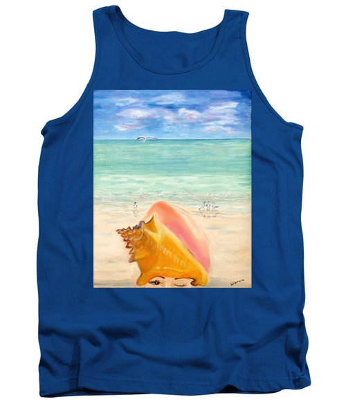 Inside The Head Of A Conch Woman Tank Top
