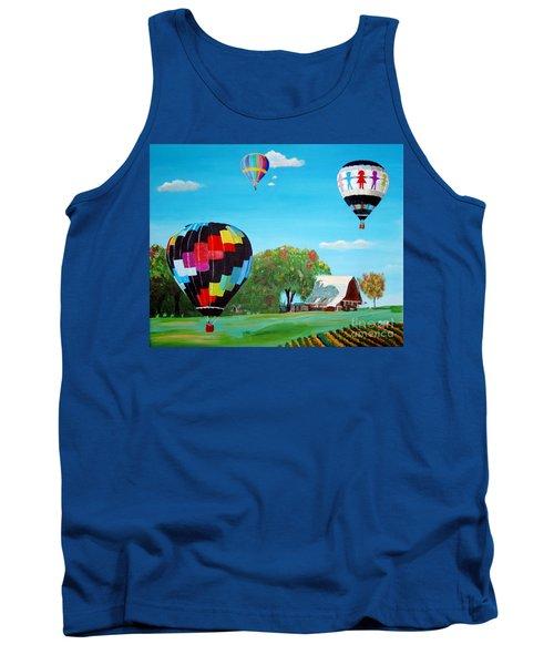 Iowa Balloons Tank Top