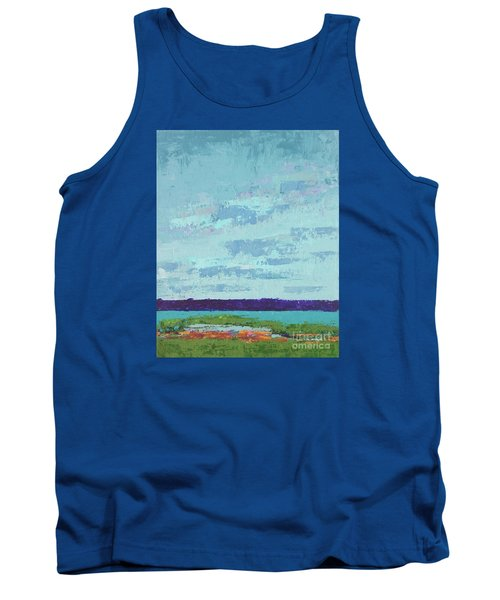 Island Estuary Tank Top by Gail Kent