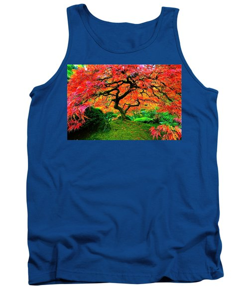 Japanese Red Maple Tank Top