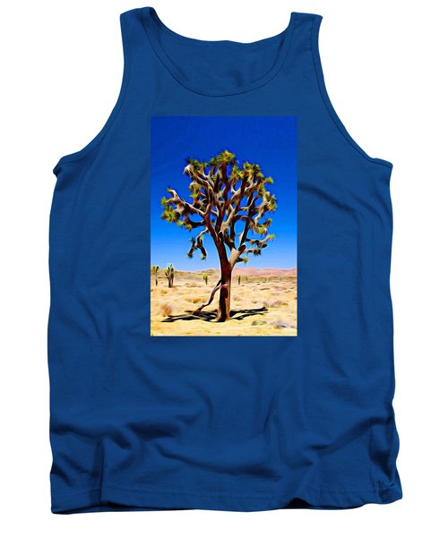 Joshua Tree Dark Tank Top
