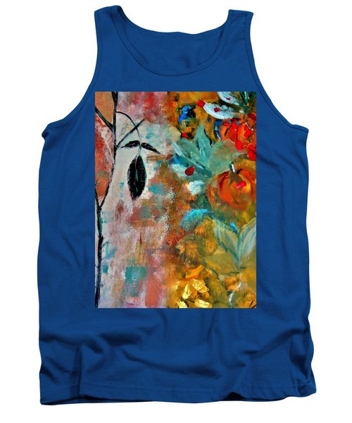 Tank Top featuring the painting Joy by Lisa Kaiser