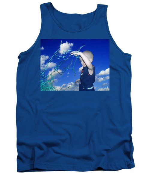 Kaleb Takes Over The World Tank Top