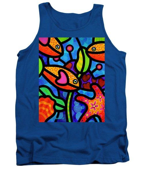 Kaleidoscope Reef Tank Top
