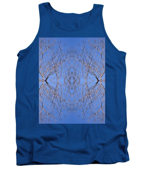 Kaleidoscope - Trees 1 Tank Top by Andy Shomock