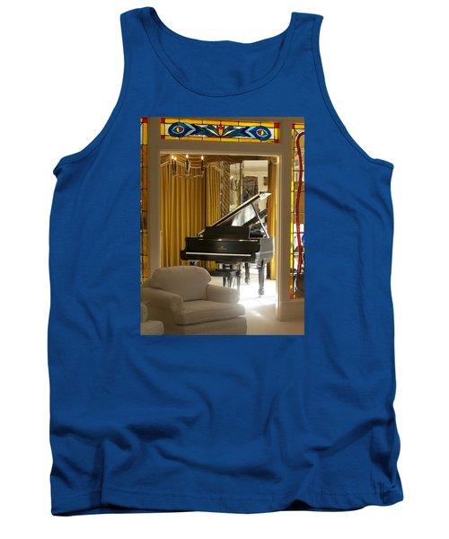 Kings Piano Tank Top by Jewels Blake Hamrick