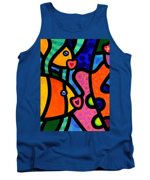 Kissing Fish Reef Tank Top