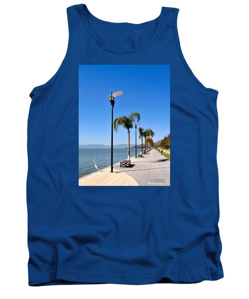 Tank Top featuring the photograph Lake Chapala - Mexico by David Perry Lawrence
