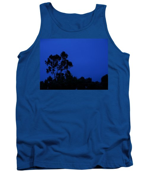 Tank Top featuring the photograph Blue Landscape by Mark Blauhoefer