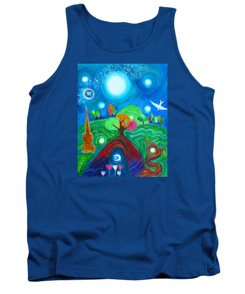 Landscape Of Ancient Dreams Tank Top