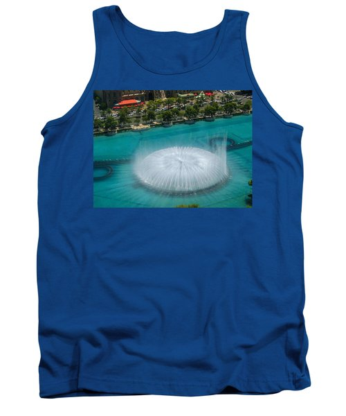 Tank Top featuring the photograph Las Vegas Orb by Angela J Wright