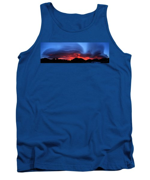 Layers In The Sky - Panorama Tank Top