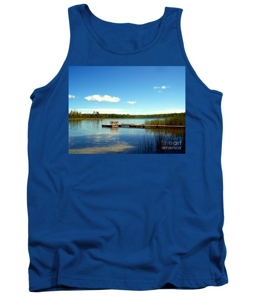 Lazy Summer Day Tank Top by Desiree Paquette