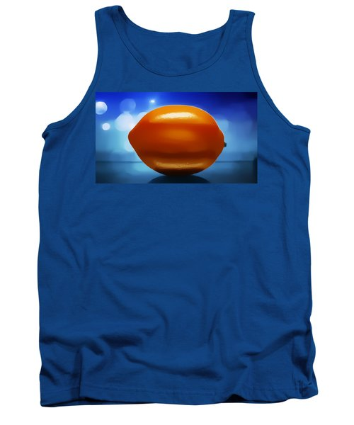 Tank Top featuring the photograph Lemon by Aaron Berg
