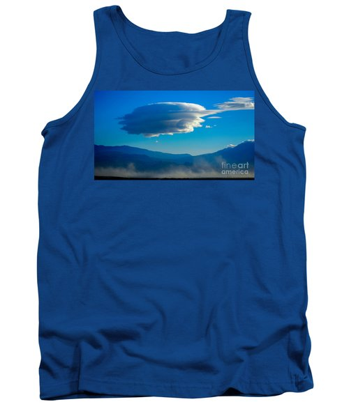 Lenticular Dust Storm Tank Top by Angela J Wright