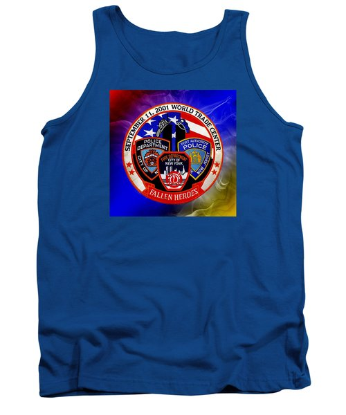 Tank Top featuring the digital art Least We Forget  by Nick Kloepping