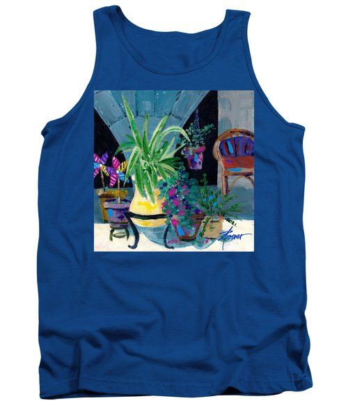 Library Courtyard-rhodes Old Town Tank Top