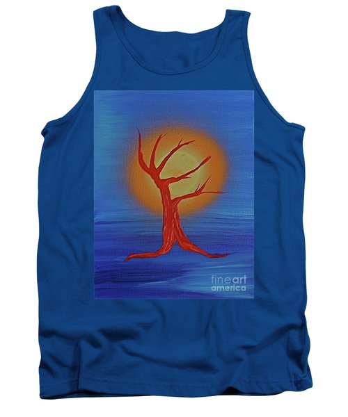 Tank Top featuring the painting Life Blood By Jrr by First Star Art
