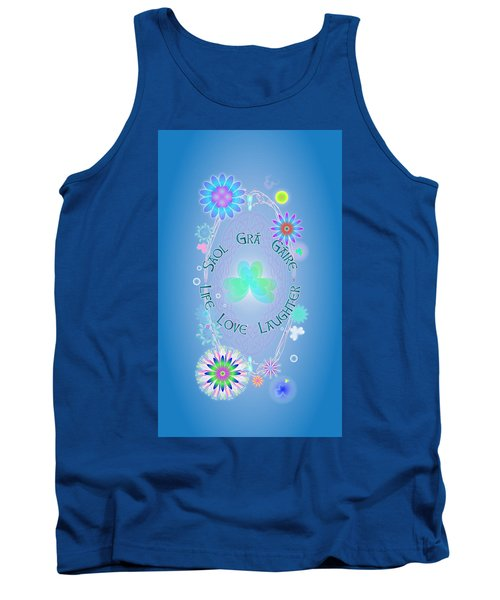 Life Love Laughter Tank Top