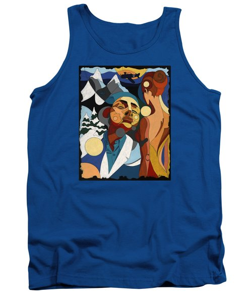 Life Of Roy Painting With Hidden Pictures Tank Top