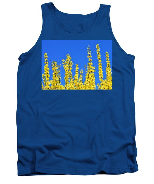 Lighting The Spring Sky Tank Top