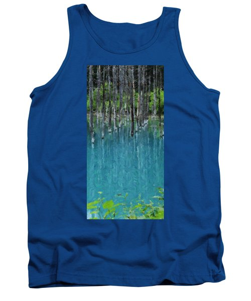 Liquid Forest Tank Top