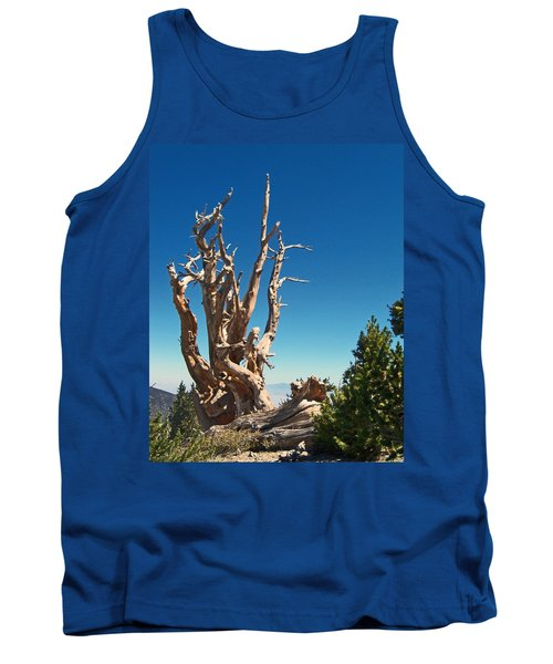 Tank Top featuring the photograph Lone Bristlecone by Alan Socolik