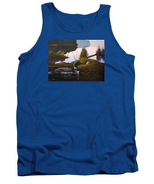 Loon Lake Tank Top by Richard Faulkner