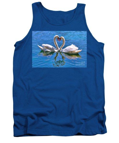 Love For Lauren On Lake Eola By Diana Sainz Tank Top