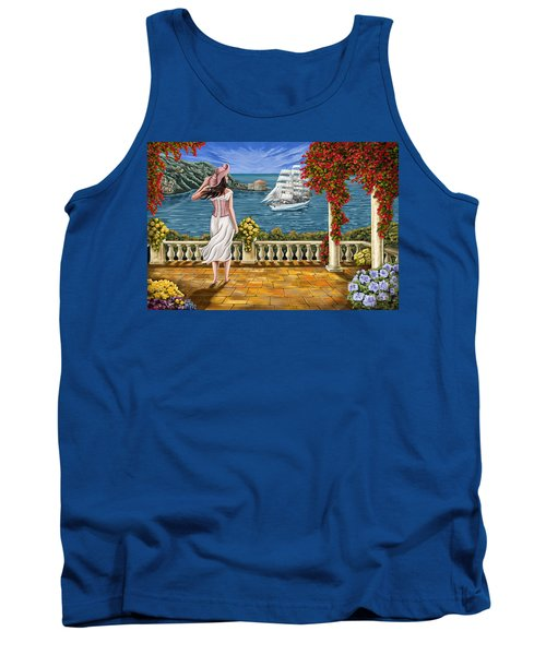 Tank Top featuring the painting Love Is Coming Home by Tim Gilliland
