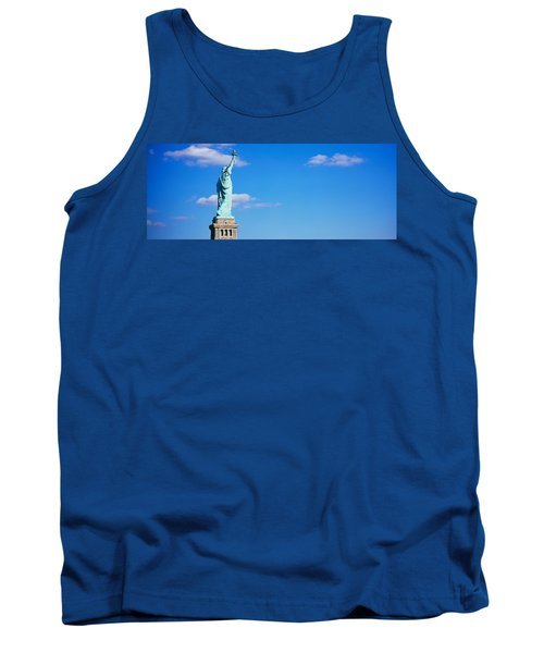 Low Angle View Of A Statue, Statue Tank Top