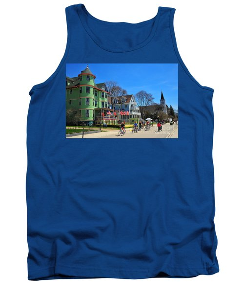 Mackinac Island Waterfront Street Tank Top