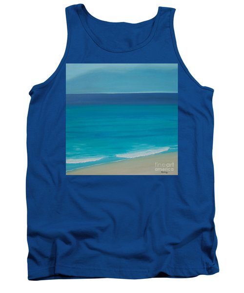 Tank Top featuring the painting Madagascar by Mini Arora
