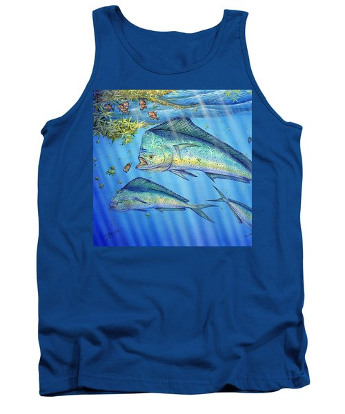 Mahi Mahi In Sargassum Tank Top