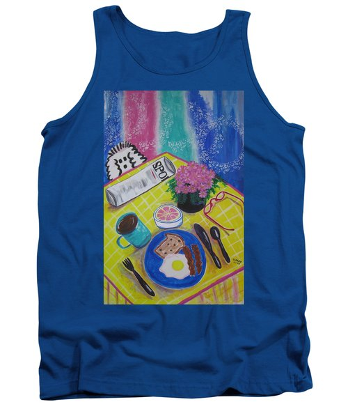 Makin' His Move Tank Top by Diane Pape
