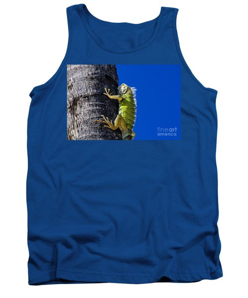 Man Is This Beach Crowded Tank Top