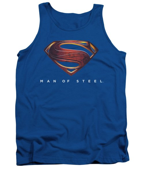 Man Of Steel - Mos New Logo Tank Top