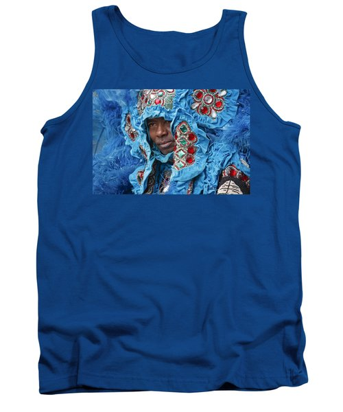 Mardi Gras Indian Tank Top