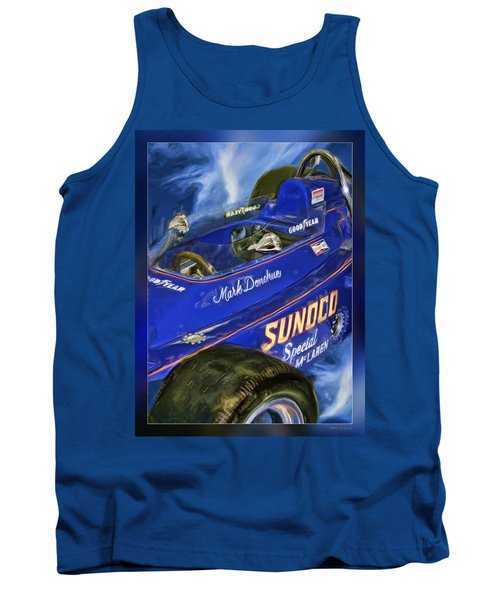 Mark Donohue 1972 Indy 500 Winning Car Tank Top