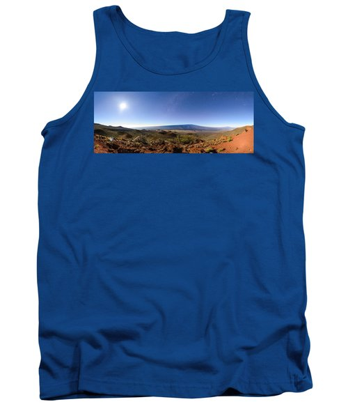 Mauna Loa Moonlight Panorama Tank Top