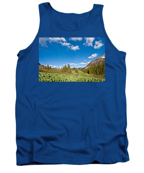 Tank Top featuring the photograph Meadow Of False Hellebore by Jeff Goulden
