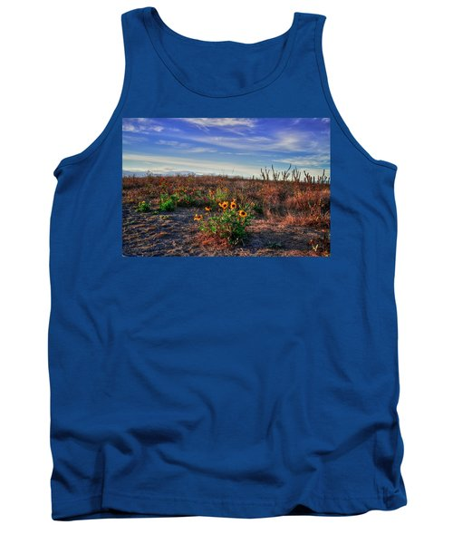 Tank Top featuring the photograph Meadow Of Wild Flowers by Eti Reid