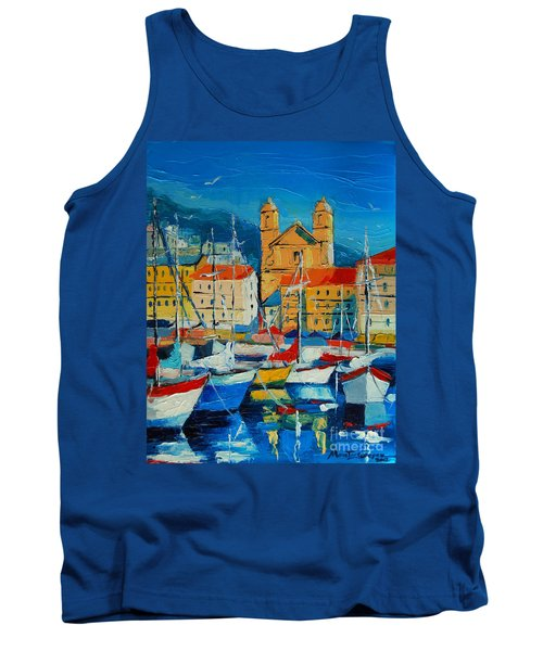 Mediterranean Harbor Tank Top