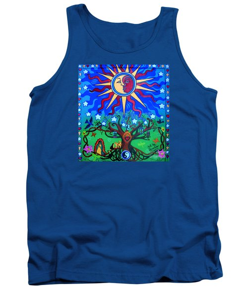 Mexican Retablos Prayer Board Small Tank Top
