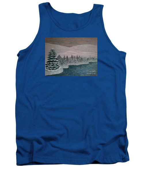 Michigan Winter Tank Top
