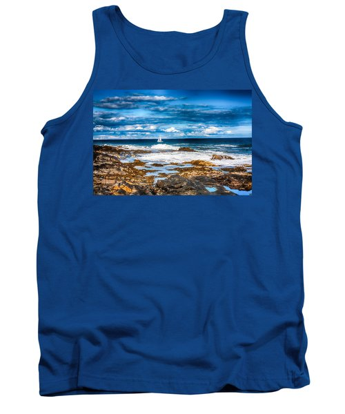 Midday Sail Tank Top by Fred Larson
